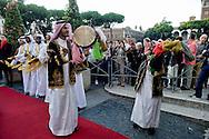 Roma 3 Ottobre 2013<br /> Celebrazioni per gli 80 Anni di Relazioni Diplomatiche tra Arabia Saudita e Italia.<br /> La Danza delle Spade tradizionale danza dell 'Arabia Saudita   inaugura la mostra &quot;Alla scoperta dell'Arabia Saudita&quot;  al Vittoriano<br /> Saudi Cultural Days in Rome<br />  The Dance of Swords traditional dance of the 'Saudi Arabia opens the exhibition &quot;Discovering Saudi Arabia&quot; at the Vittoriano