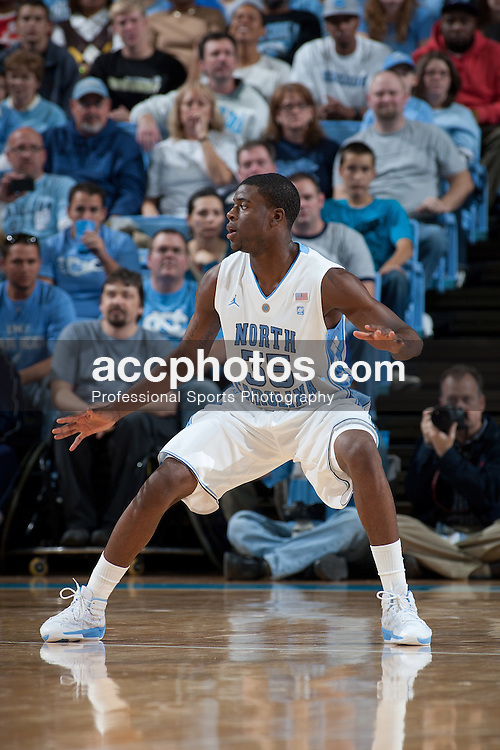 CHAPEL HILL, NC - NOVEMBER 05: Reggie Bullock #35 of the North Carolina Tar Heels while playing the Barton College Bulldogs at the Dean E. Smith Center on November 5, 2010 in Chapel Hill, North Carolina.  North Carolina defeated Barton College 108-67.