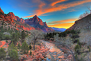 Zion National Park Stock Images
