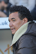Notts County Manager Ricardo Moniz during the Sky Bet League 2 match between Notts County and Plymouth Argyle at Meadow Lane, Nottingham, England on 11 October 2015. Photo by Simon Davies.