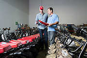 01/14/2016 124320 -- Garland, TX -- © Copyright 2016 Mark C. Greenberg<br /> <br /> CEO Alex Keechle and President and COO Rick Sukkar of Garland, Texas based Monster Moto.