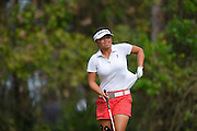 Megan Khang during the fourth round of the LPGA Qualifying Tournament Stage Three at LPGA International in Daytona Beach, Florida on Dec. 5, 2015.<br /> <br /> ©2015 Scott A. Miller
