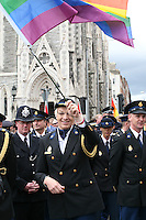 G-Force police at the Dublin Pride 2012 LGBTQ festival parade Dublin City Ireland. Saturday 30th June 2012.