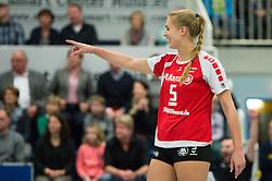 08-02-2015 GER: USC Muenster - Allianz MTV Stuttgart, Munster<br /> Jubel Kim Renkema (#5 Stuttgart)<br /> <br /> ***NETHERLANDS ONLY***