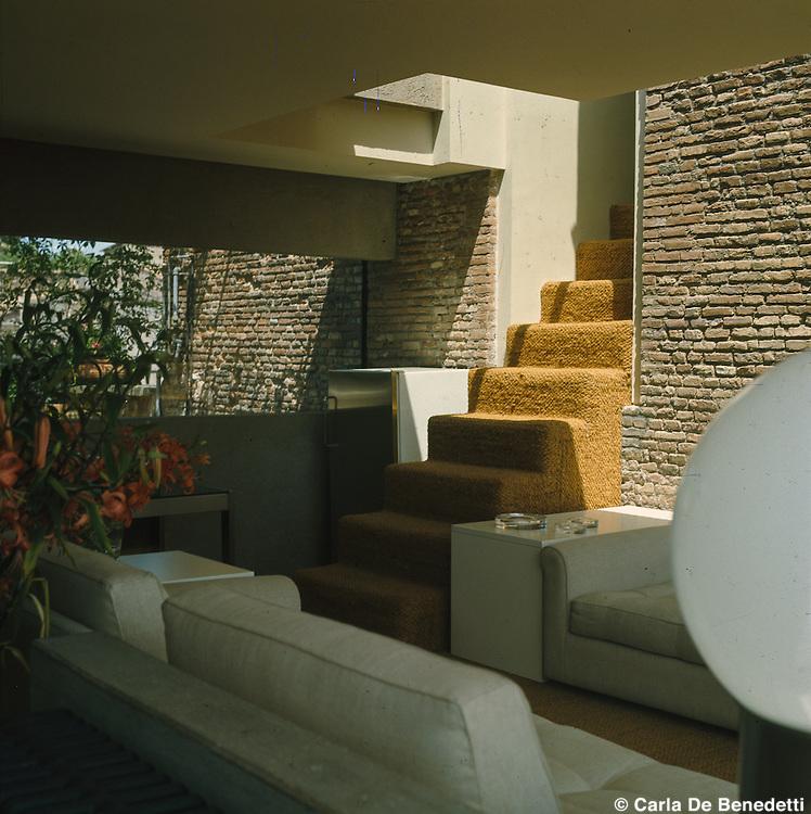 Architect Gae Aulenti, 1973
