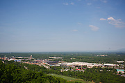 View from the Liberty University monogram photographed on May 11, 2018. (Photo by Leah Seavers).