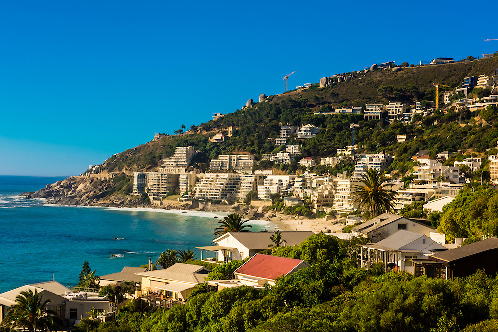 Coastal road, Clifton, Cape Town, South Africa.