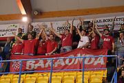 Ultras, Tifosi, Spettatori, Pubblico<br /> Happy Casa Brindisi - Oriora Pistoia<br /> Legabasket SerieA 2019-2020<br /> Brindisi, 24/11/2019<br /> Foto  Ciamillo-Castoria / Michele Longo