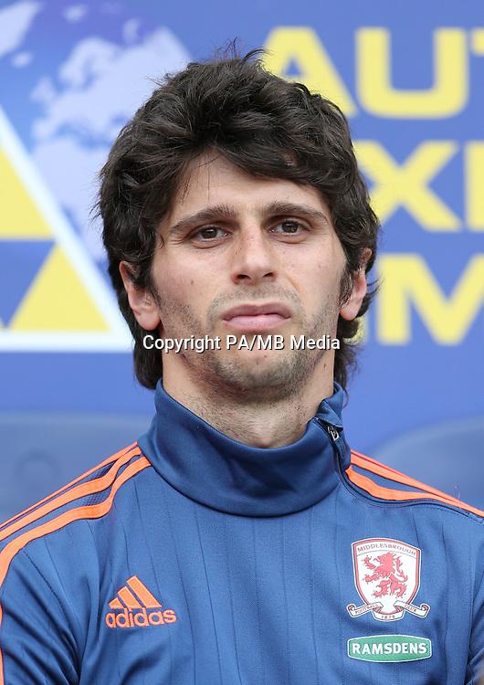 Middlesbrough's Diego Fabbrini