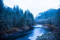 Nehalem River, Oregon.