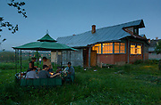 Old Dacha outside Moscow, Russia