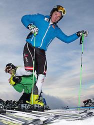 07.10.2014, Moelltaler Gletscher, Flattach, AUT, OeSV Medientag, im Bild Marco Schwarz (AUT) // Austrian Skiracer Marco Schwarz during the media day of Austria Ski Federation OSV at Moelltaler glacier in Flattach, Austria on 2014/10/07. EXPA Pictures © 2014, PhotoCredit: EXPA/ Johann Groder
