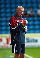 Photo: Tony Oudot.<br /> Gillingham v Charlton Athletic. Pre Season Friendly. 28/07/2007.<br /> Alan Pardew manager of Charlton Athletic