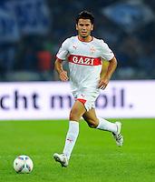 26. August 2011: Berlin, Olympiastadion: Fussball 1. Bundesliga, 4. Spieltag: Hertha BSC - VfB Stuttgart: Stuttgarts Serdar Tasci am Ball.