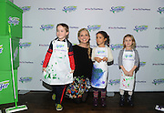 """Sarah Michelle Gellar joins Swiffer as program ambassador at its """"Yes to the Mess"""" event, Wednesday, Feb. 3, 2016, in New York, where kids were encouraged to take part in messy activities such as cookie decorating because with Swiffer you can get a thorough clean in minutes. (Photo by Diane Bondareff/Invision for Swiffer/AP Images)"""