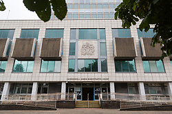 Camberwell Green Magistrates Court in London. London, July 15 2019.