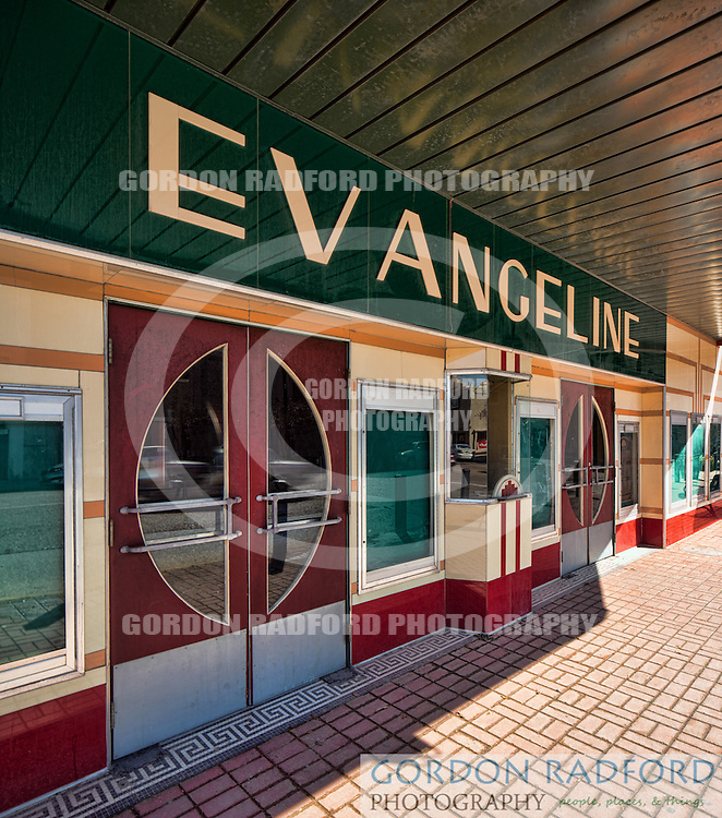 LOCATED ON HWY 182 (THE OLD SPANISH TRAIL) EVANGELINE THEATER - NEW IBERIA, LOUISIANA