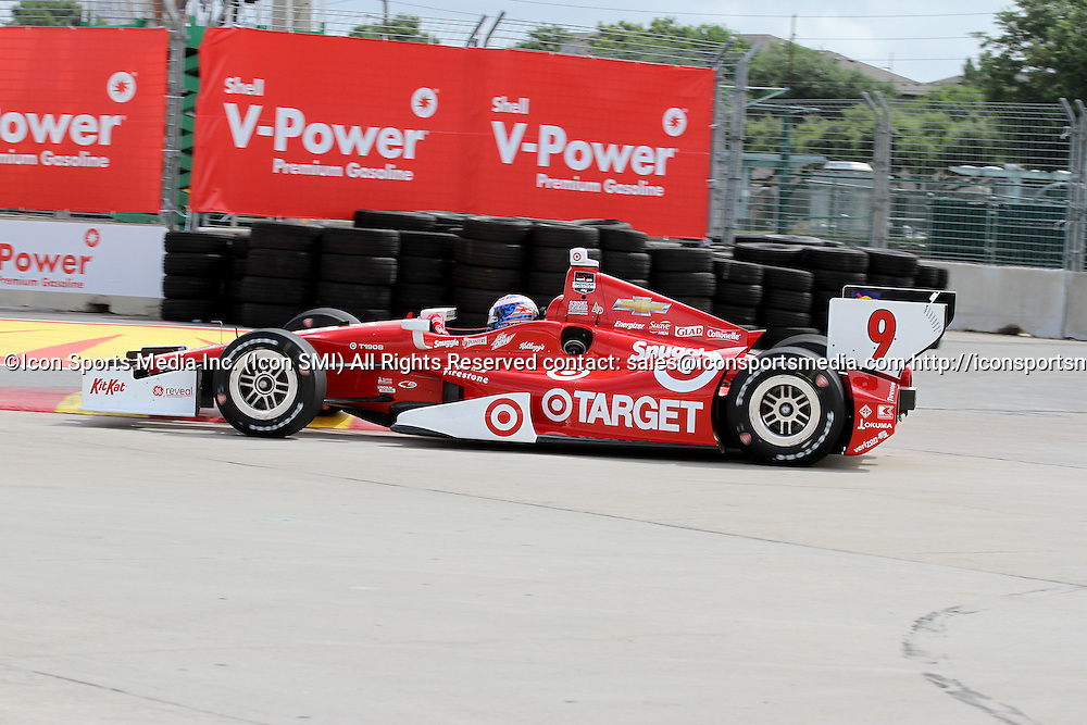 June 27, 2014: Scott Dixon during practice for the IndyCar Series Grand Prix of Houston at MD Anderson Cancer Center Speedway in Houston, TX.