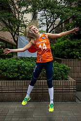 13-10-2018 JPN: World Championship Volleyball Women day 14, Nagoya<br /> Portraits Dutch Volleybal Team - Laura Dijkema #14 of Netherlands