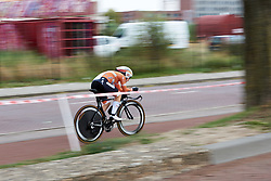 Amy Pieters (NED) at Boels Ladies Tour 2018 - Prologue, a 3.3 km time trial in Arnhem, Netherlands on August 28, 2018. Photo by Sean Robinson/velofocus.com