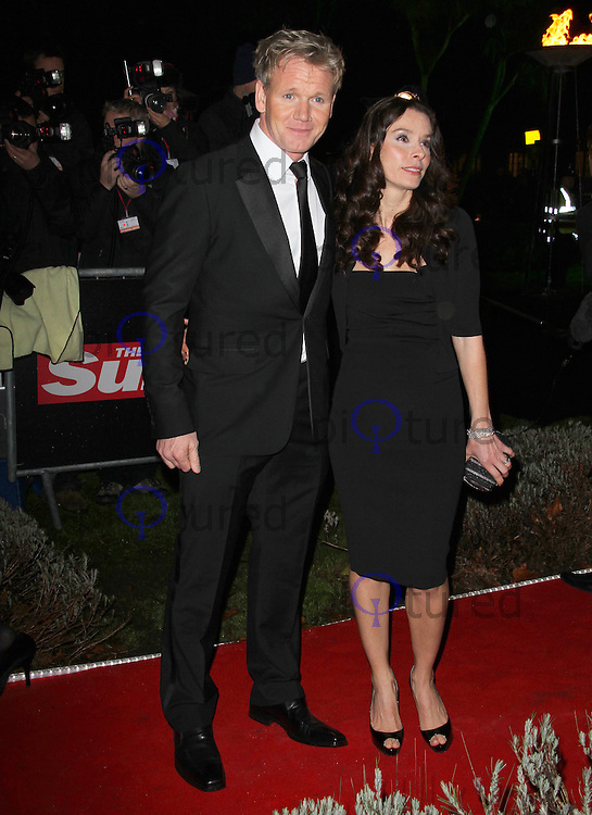 LONDON - DECEMBER 19: Tana Ramsay; Gordon Ramsay attend the The Sun Military Awards 'The Millies' at the Imperial War Museum, London, UK on December 19, 2011. (Photo by Richard Goldschmidt)
