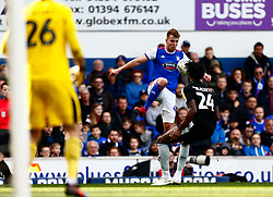 James Bree of Ipswich Town controls the ball - Mandatory by-line: Phil Chaplin/JMP - FOOTBALL - Portman Road - Ipswich, England - Ipswich Town v Reading - Sky Bet Championship