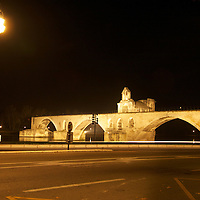 Only 4 of the original 22 arches remain from the bridge that dates back to the 12th Century, as this famous bridge used to link the independent enclave of Avignon to the Kingdom of France across the Rhone River. Pont Saint-bénezet