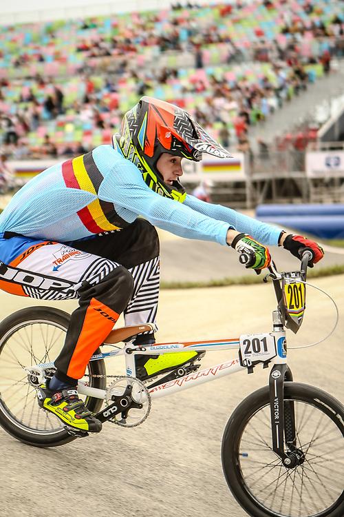 2018 UCI World Championships<br /> Baku, Azerbaijan<br /> 16 Boys #201 (VRANCKX Jan-Viktor) BEL