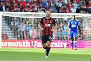 scorer of 2 goals AFC Bournemouth Midfielder, Ryan Fraser (24) during the Premier League match between Bournemouth and Leicester City at the Vitality Stadium, Bournemouth, England on 15 September 2018.
