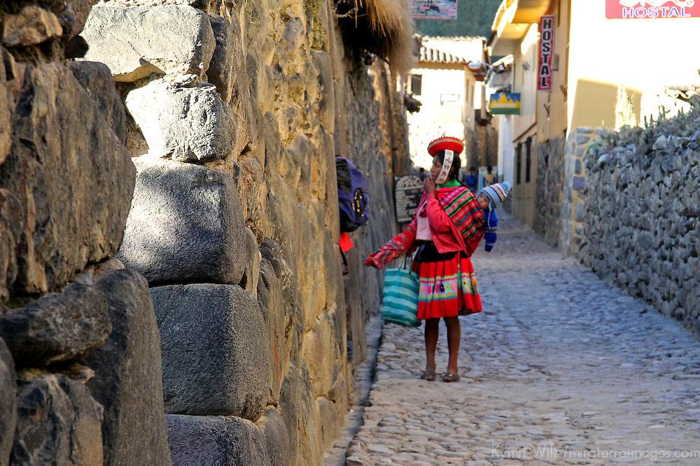 South America, Peru, Ollanta. Scene in Ollanta.