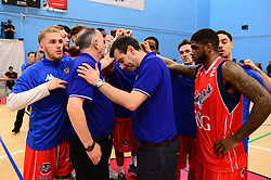 Bristol Flyers team talk - Photo mandatory by-line: Dougie Allward/JMP - 01/04/2017 - BASKETBALL - SGS Wise Arena - Bristol, England - Bristol Flyers v Leeds Force - British Basketball League