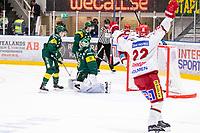 2020-03-10   Umeå, Sverige:Modo (15) Adam Tambellini reducerar till 3-2 under matchen i HA Finalserien mellan Björklöven och MoDo i A3 Arena ( Foto av: Michael Lundström   Swe Press Photo )<br /> <br /> Nyckelord: Umeå, Hockey, HA Finalserien, A3 Arena, Björklöven, MoDo, mlbm200310, jubel jublande glad glädje lycka