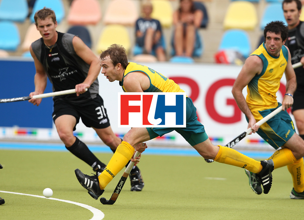 Mens Champions Trophy, Monchengladbach, Germany, 2010<br /> Australia v New Zealand Day 1<br /> Matthew Swann<br /> Credit: Grant Treeby<br /> <br /> Editorial use only (No Archiving) Unless previously arranged
