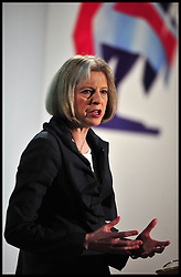 Theresa May during her speech at the Conservative Spring Conference, London, Saturday March 16, 2013. Photo By Andrew Parsons / i-Images