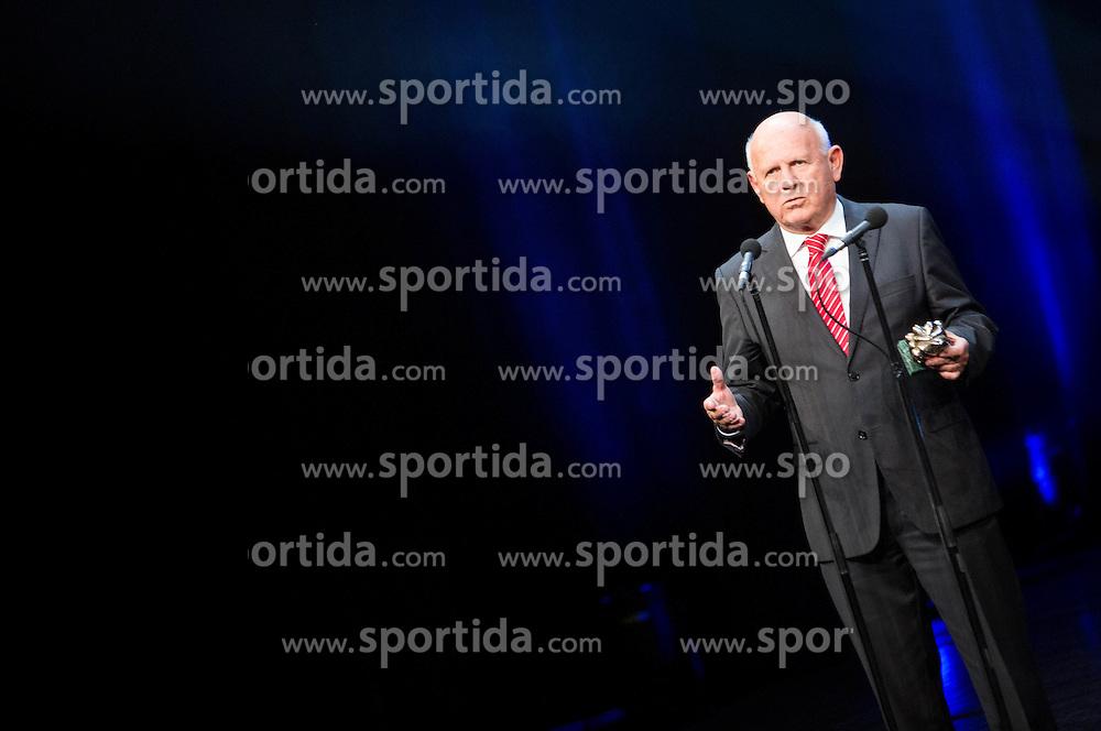 Janez Kocijancic at Slovenian Sports personality of the year 2014 annual awards presented on the base of Slovenian sports reporters, on December 9, 2014 in Cankarjev dom, Ljubljana, Slovenia. Photo by Vid Ponikvar / Sportida