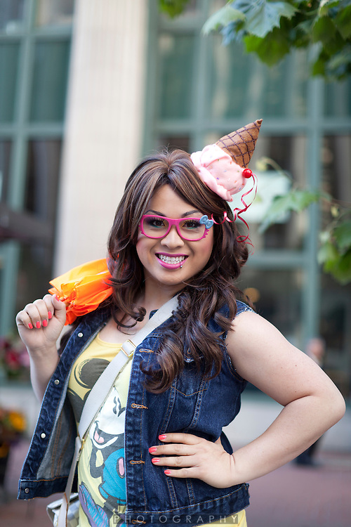 Portraits of the San Francisco Pride Parade on June 24, 2012