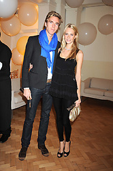 POPPY DELEVINGNE and JAMES COOK at Vogue's Fantastic Fashion Fantasy Party in association with Van Cleef & Arpels to celebrate Vogue's Secret Address Book held at One Marylebone Road, London NW1 on 3rd November 2008.