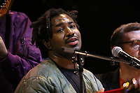 Sampha performing with Everything Is Recorded - Richard Russell