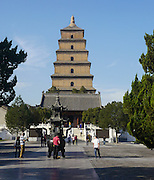 China, Xian Shaanxi, Big Wild Goose Pagoda