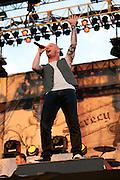 Stone Sour performing at Carolina Rebellion at Metrolina Expo in Charlotte, NC on May 7, 2011