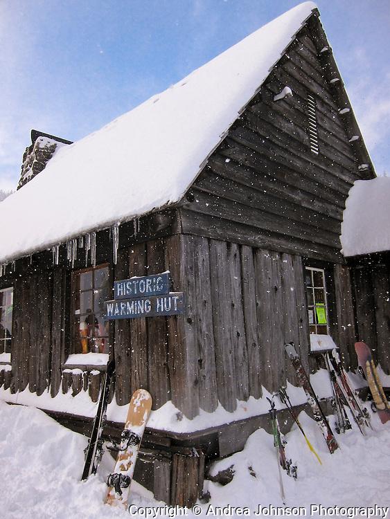 Ski Bowl Historic Warming Hut, Mt. Hood, Oregon