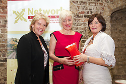 "Three top business women from Galway, Cork and Dublin win Network Ireland Business Women of the Year Awards (existing business)...Left to Right: .Ms Jo Rzymowska, Associate Vice President and General Manager, UK and Ireland Royal Caribbean International, Ms Ms Julia McAndrew, Compleat Travel Essentials, Galway and Ms Mary Kershaw President Network Ireland. Ms McAndrew won he Businesswoman of the Year. ..Friday, 21 October, 2011: The Galway founder of the successful travel pack for flyers, an internationally renowned hairdresser from Cork and the Head of Prudential Supervision at the Irish Banking Federation were presented with Network Ireland 2011 Business Women of the Year Awards, sponsored by Celebrity Cruises, today at Dublin Castle...Ms Julia McAndrew, the founder of Compleat Travel Essentials Packs, the new Galway company that sells to over 4,000 retail and hotel customers, a range of specially prepared packs containing essential toiletries for those flying and travelling throughout the world, won the Network Businesswoman (New Business) of the Year. Ms Valerie Cahill, CEO  Ikon Hair Design in Cork, the award winning hair styling company in Cork, won the Network Businesswoman (Self Employed) of the Year and Ms Mary Doyle, Head of Prudential Supervision at the  Irish Banking Federation, Dublin won the Network Businesswoman (Employee) of the Year. ..The ""Trish Murphy Honorary Award"" was presented by Network Ireland to the successful business woman, Ms Norma Smurfit, for her tireless commitment and work for a large number of charities. This is the inaugural year of this award in honour of Trish Murphy, a past Network Dublin President who contributed significantly to the organisation and also for charity. Sadly she passed away last year prematurely at the age of 53 from cancer...Ms Mary Kershaw, President Network Ireland, an organisation representing over 3,000 women in business, said that the theme for this year's awards was ""Local Talent for Global Opport"