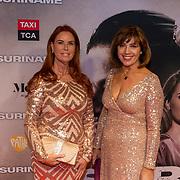 NLD/Amsterdam/20200217-Suriname filmpremiere, Annemiek Raatsie en Janke Deker