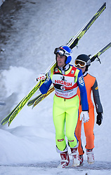 19.12.2017, Toni Seelos Olympiaschanze, Seefeld, AUT, OeSV Training Gregor Schlierenzauer, im Bild Gregor Schlierenzauer // Gregor Schlierenzauer during a Trainingssession of Austrian Skijumping Team at the Toni Seelos Olympiaschanze in Seefeld, Austria on 2017/12/19. EXPA Pictures © 2017, PhotoCredit: EXPA/ Jakob Gruber