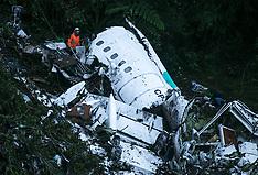 Plane Chapecoense falls in Colombia, 29 Nov. 2016
