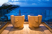 Anguilla - January 5, 2015: With it's hyper-modern design aesthetic, the Viceroy Anguilla makes an impression on from the Anguillan shoreline. CREDIT: Chris Carmichael for The New York Times