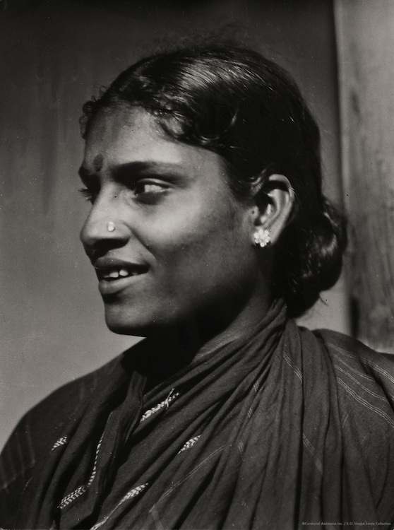 Brahmin Lady near Guntakal, India, 1929