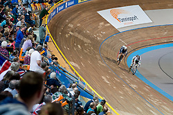 , AUS, NZL, Sprint FInals, 2015 UCI Para-Cycling Track World Championships, Apeldoorn, Netherlands