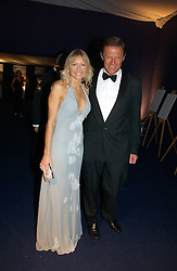 LORD & LADY ST.JOHN of BLETSO at the British Red Cross London Ball held at The Room by The River, 99 Upper Ground, London SE1 on 16th November 2006.<br />