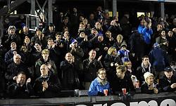 Bristol Rovers fans - Photo mandatory by-line: Neil Brookman/JMP - Mobile: 07966 386802 - 20/03/2015 - SPORT - Football - England - Memorial Stadium - Bristol Rovers v Aldershot - Vanarama Football Conference